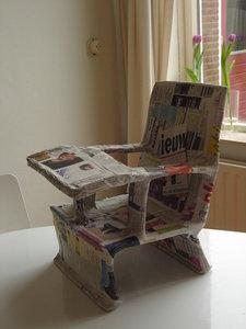 Kinderstoel Tafel Stoel.Kinderstoel Tafelstoel Pop In De Maak Knaphandig